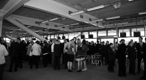 Grandstand reception
