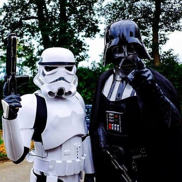 Darth Vader & his Stormtroopers