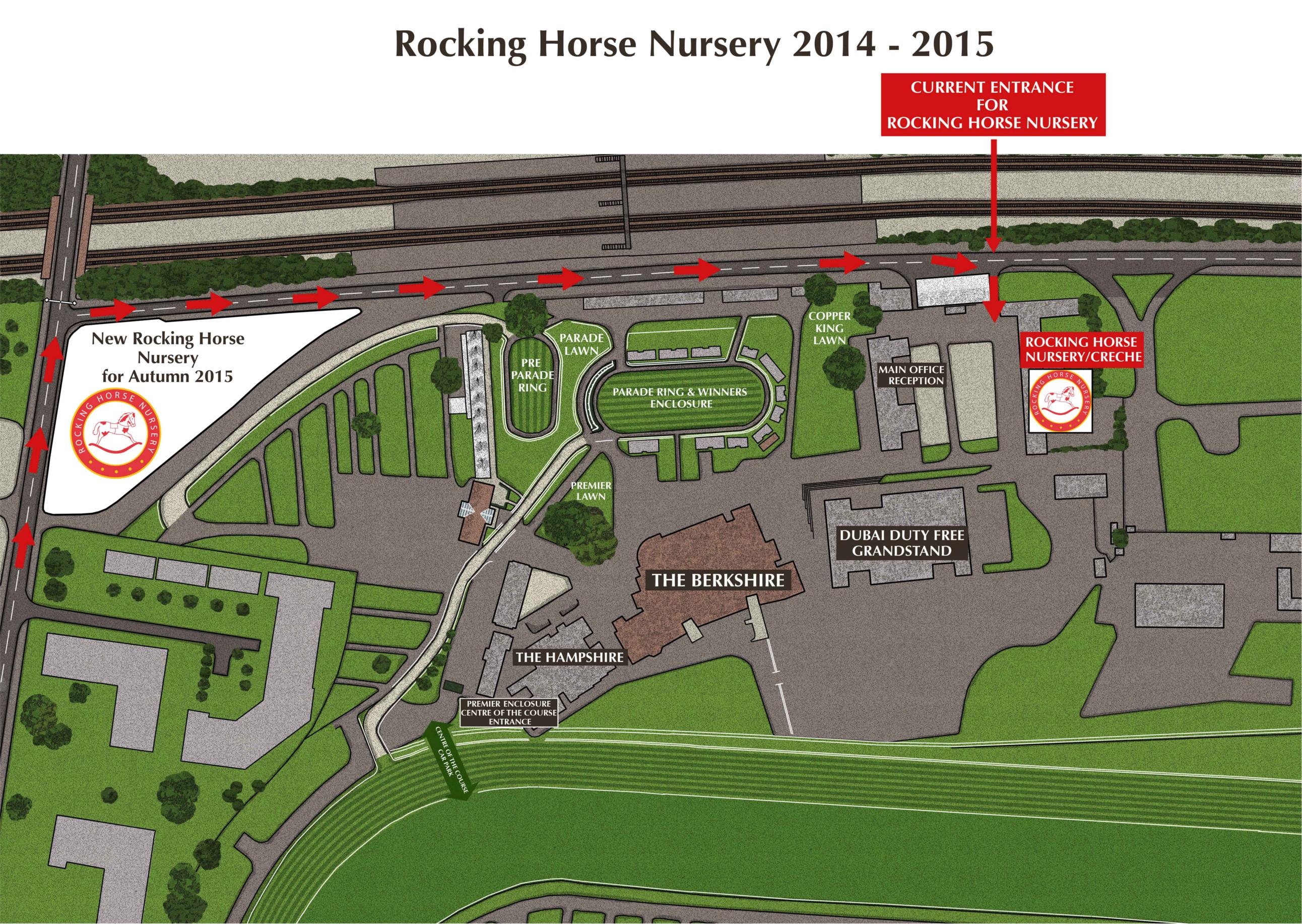Rocking Horse Nursery Map